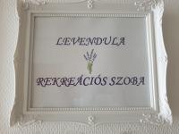 Örömmel tájékoztatunk Mindenkit, hogy elkészült a Levendula Rekreációs Szobánk!