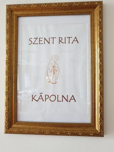 Szent Rita kápolnánk várja a látogatókat