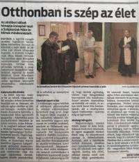 Az Észak Magyarországban jelent meg!